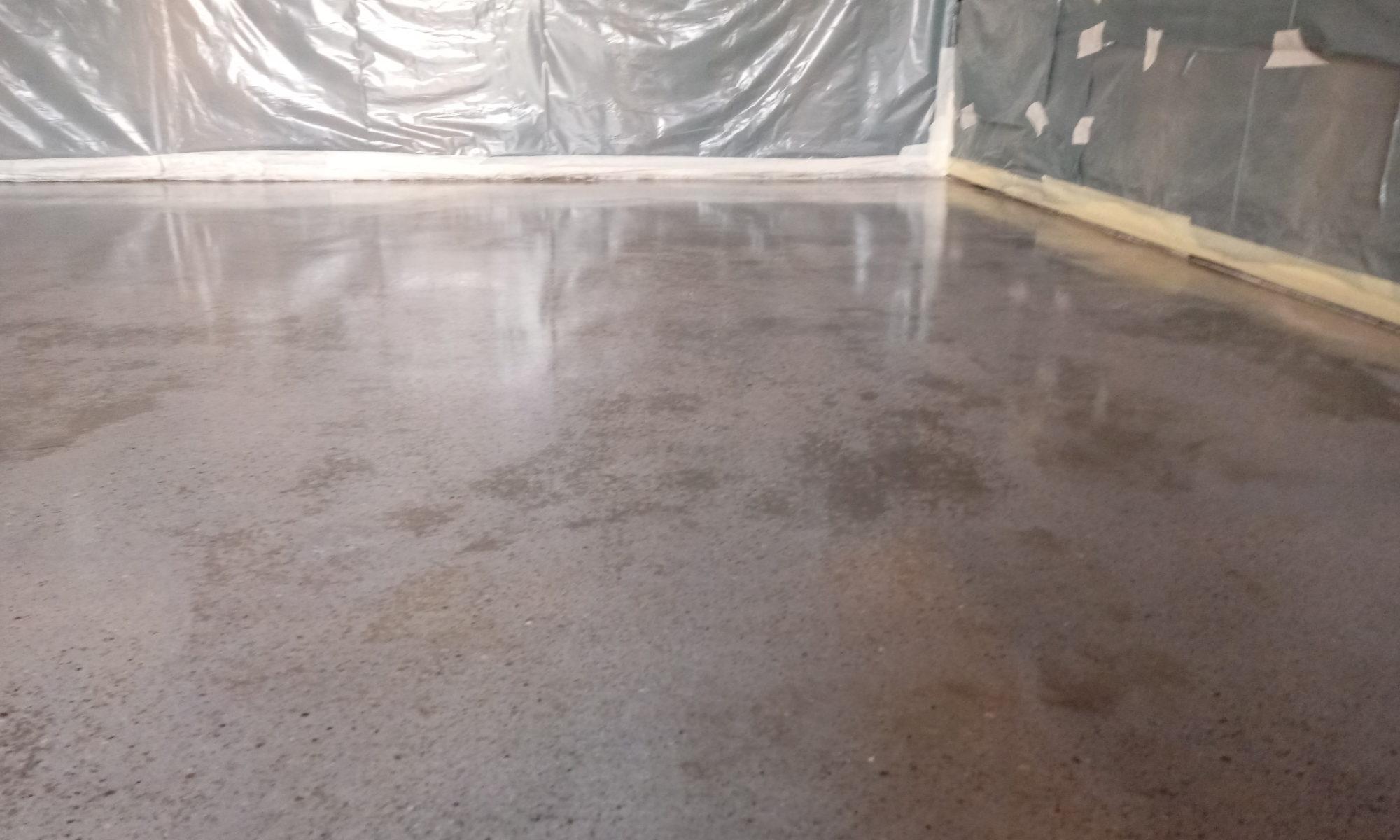 csiszolt beton
